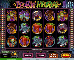 Screenshot of Boogie Monser Slot