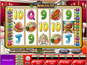 Buffet Bonanza Slot - Microgaming Food Themed Slot