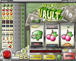 Bust-A-Vault Slot Screenshot