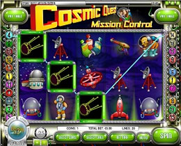 Cosmic Quest - Mission Control Slot