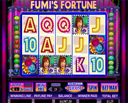 Fumi's Fortune Slot Screenshot