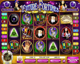 Futue Fortunes is a Rival Gaming Magic and Fantasy Slot