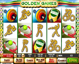 Golden Games Slot Screenshot