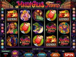 Mardi Gras Fever Slot Screenshot