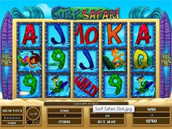 Surf Safari Slot Screenshot