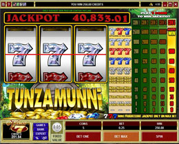 Tunzamunni Slot Screenshot