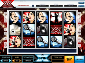 The X Factor Slot Screenshot