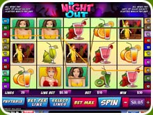 A Night Out Slot Screenshot