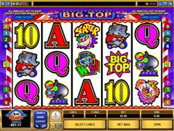 Big Top Slot Screenshot