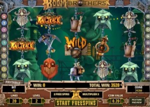 Boom Brothers Slot Screenshot