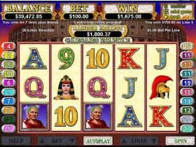Caesars Empire Slot Screenshot
