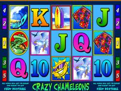 Crazy Chameleons Slot Screenshot