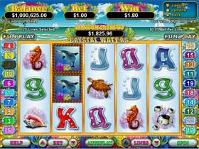 Crystal Waters Slot Screenshot