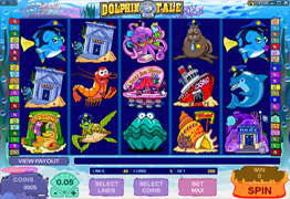 Dolhin Tale Slot Screenshot