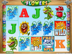Flowers Slot Screenshot