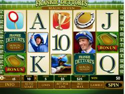 Franki Dettoris Magic Seven reels Slot Screenshot