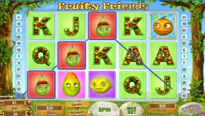 Fruity Friends Slot Screenshot