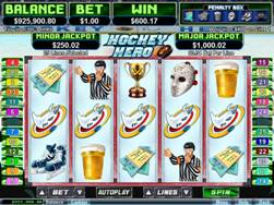 Hockey Hero Slot Screenshot