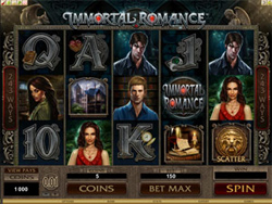 Immortal Romance Slot - 4 Different Bonus Levels