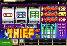 Jewel Thief Slot Screenshot