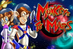 Monkeys to Mars Slot Screenshot