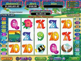Paradise Slot Screenshot