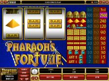 Pharaohs Fortune Slot Screenshot