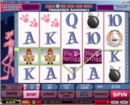 Pink Panther Slot Screenshot