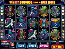 Sneak a Peek Planet Exotica Slot Screenshot
