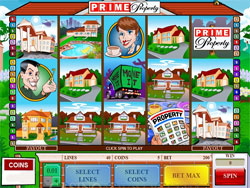 Prime Property Slot Screenshot