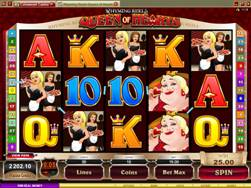 Rhyming Reels Queen of Hearts Slot Screenshot