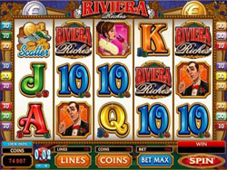 Riviera Riches Slot Screenshot