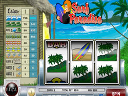 Surf Paradise Slot is a Rival Gaming Classic Slot