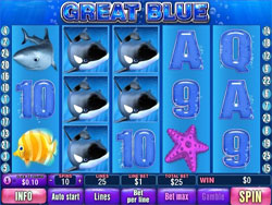 The Great Blue Slot Screenshot