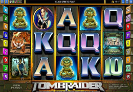 Tomb Raider Slot from Microgaming