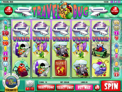 Travel Bug is a Rival Gaming Video Slot with a Travel Theme
